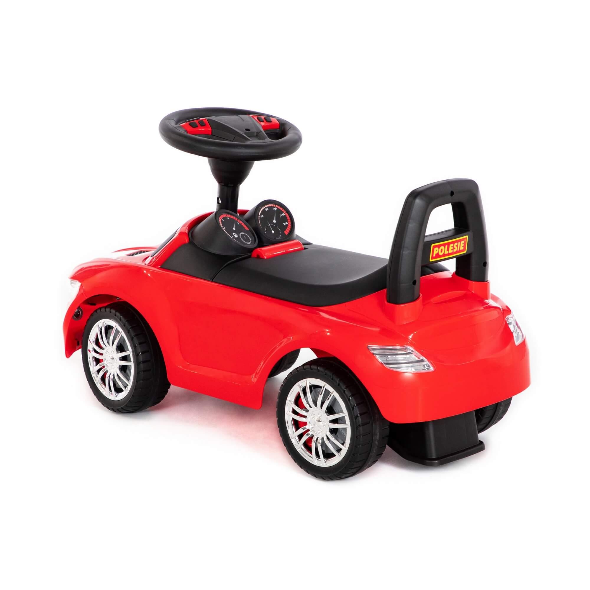 SuperCar sürümeli araba No:1 ses sinyali ile (pembe) Ref. 84460 - photo #3