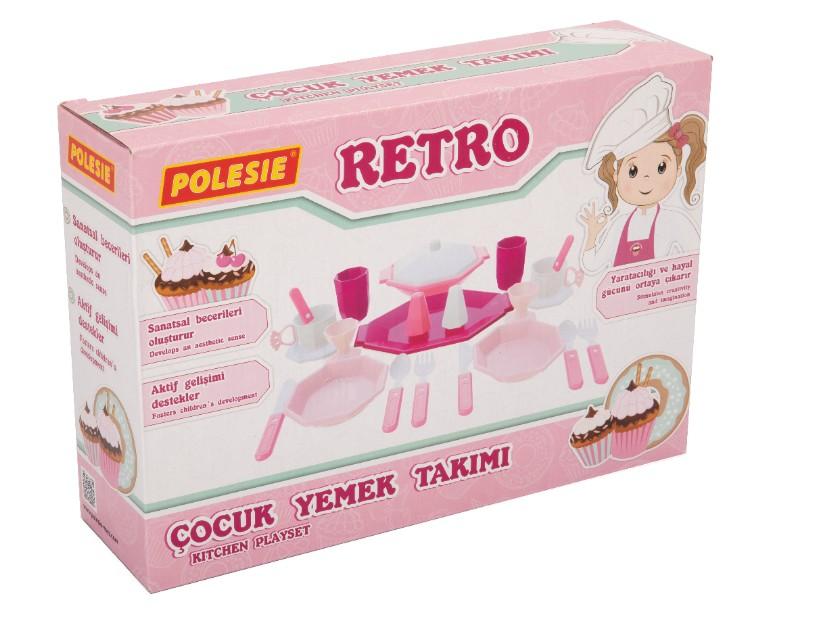 RETRO, Çocuk yemek takımı (23 parça) (kutuda) Ref. 87706 - photo #2